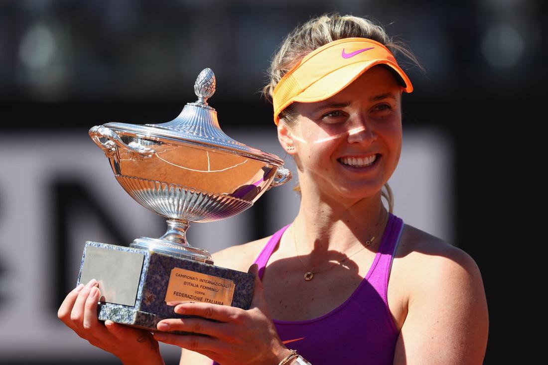 Свитолина после победы на турнире в Риме