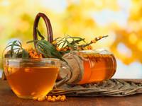 Облепиховый чай со специями