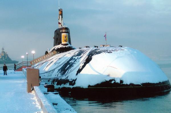 Атомная подводная лодка Архангельск