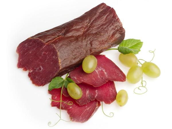 Вяленая говядина с виноградом
