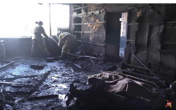 Последствия взрыва и тело Гиви