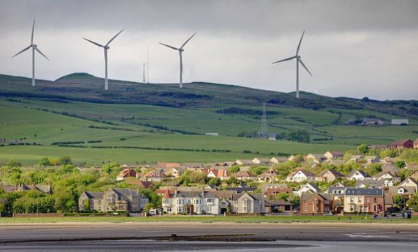Шотландія змогла прожити цілий день, використовуючи енергію вітру