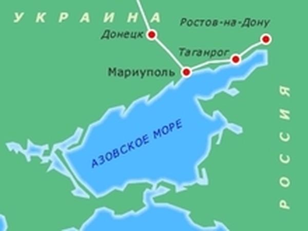 Азовская моря где находится