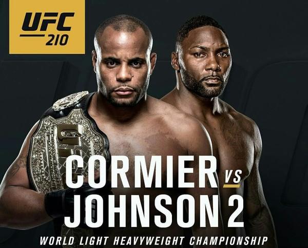 Официальный постер к турниру UFC 210