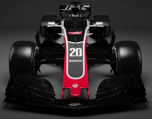 Хаас первым из команд Формулы-1 представил новый болид