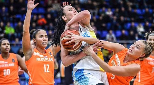 Женская сборная Украины уверенно обыграла Нидерланды в отборе на Евробаскет