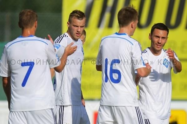 Динамо провело успешный матч с РНК Сплит