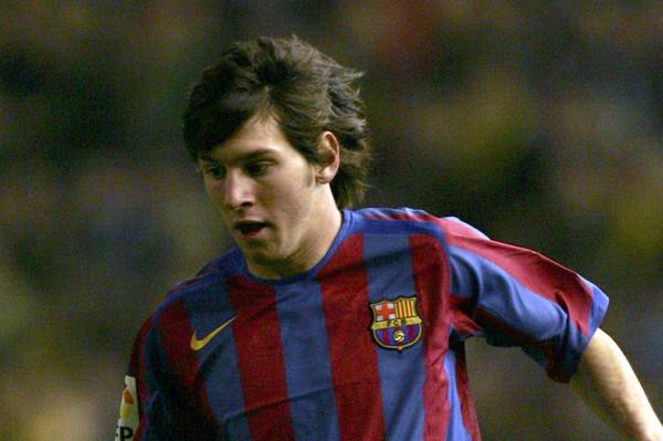 Барселона показала, как Месси играл в ранние годы