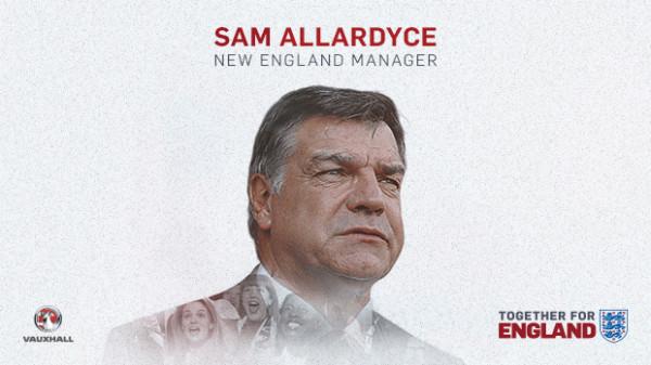Сэм Эллардайс - главный тренер сборной Англии
