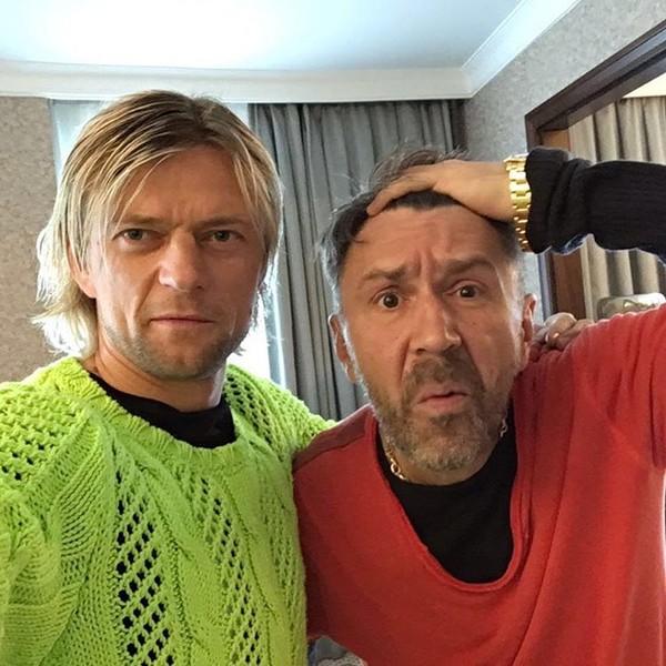 Анатолий Тимощук и Сергей Шнуров