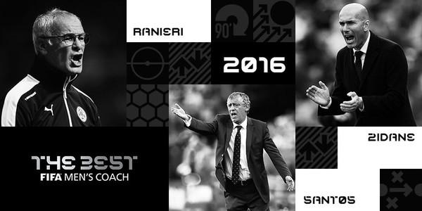 ФИФА определит лучшего тренера 2016 года
