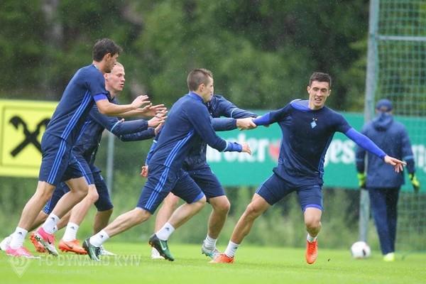 Динамо изменило соперника на сборах