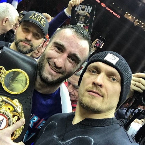 Александр Усик и Мурат Гассиев сойдутся в финале WBSS