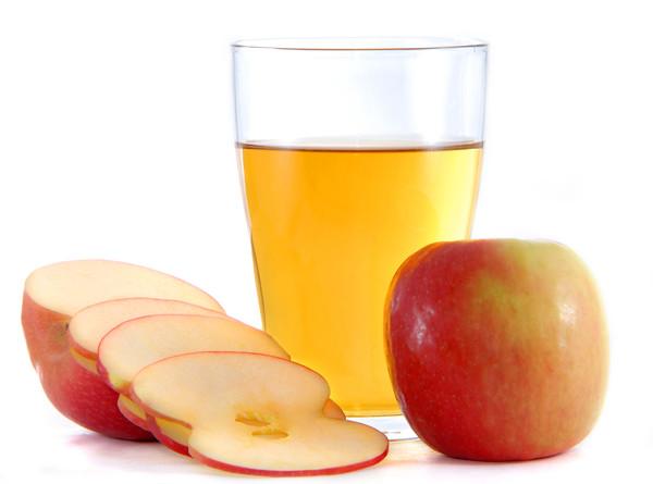 Яблочный сок - основа уксуса