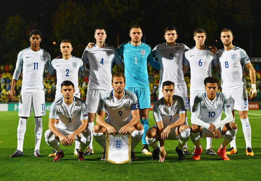 Состав сборной Англии на ЧМ-2018