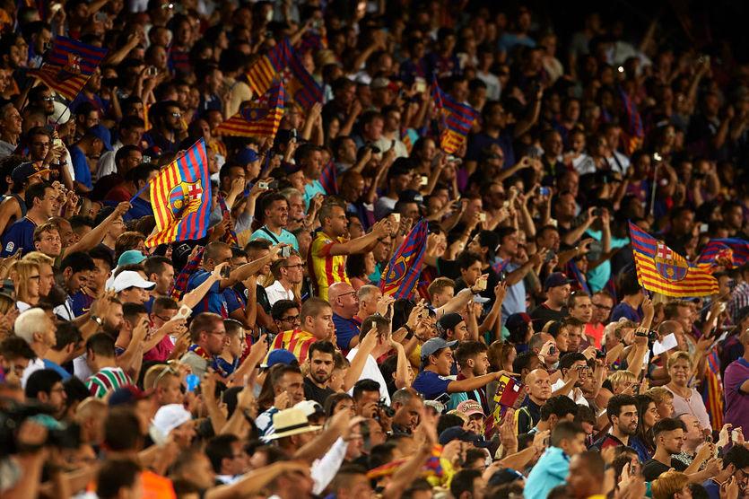 Фанаты Барселоны