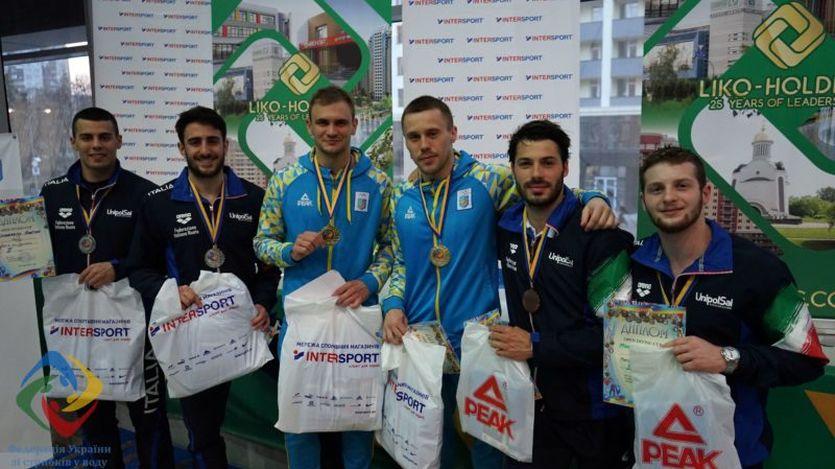 Кубок Украины по прыжкам в воду: украинцы выиграли 8 золотых медалей