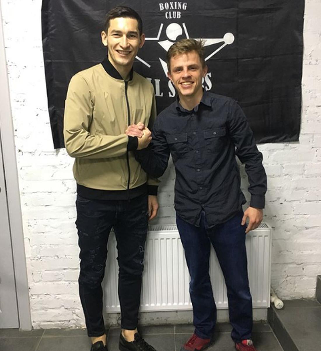 Тарас Степаненко и Егор Голуб