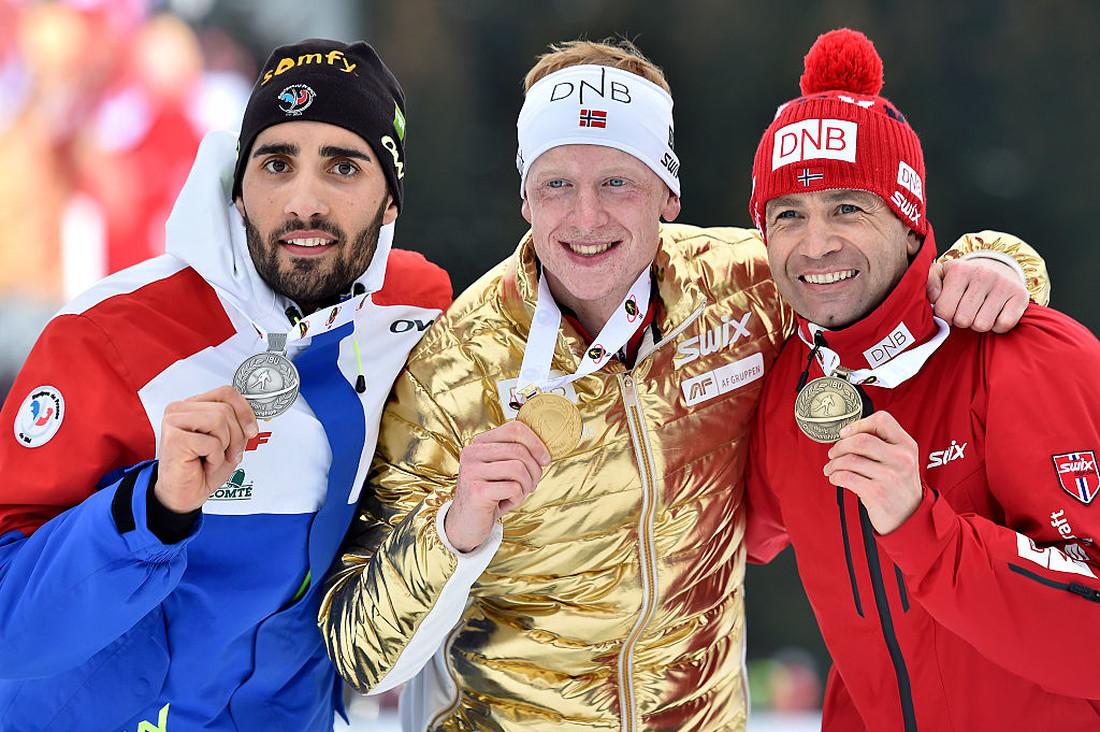 Те, кто заменят Бьорндалена (слева на право): Мартен Фуркад и Йоханнес Бе/Getty Images