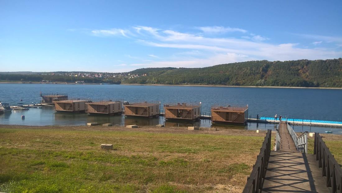 Туристическая база Услад, отдых возле воды