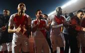 Победная раздевалка Монако: французы отпраздновали выход в 1/4 финала пением