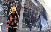 В Китае случился пожар на стадионе Шанхай Шеньхуа