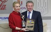 Пидгрушная получила награду лучшей спортсменки месяца