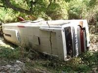 В Азербайджане упал в пропасть автобус со студентами, есть жертвы