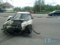 На трассе Киев-Чоп машина с маленьким ребенком попала в ДТП