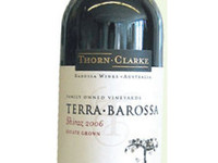 Thorn Clarke Terra Barossa Shiraz, 2006, Eden Valley, Австралия