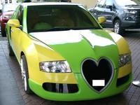 Индийский священник сделал из Honda реплику Bugatti