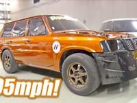 2000-сильный Nissan Patrol поставил мировой рекорд