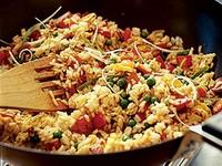 Рис жареный с яйцом по-восточному