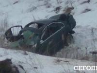 ДТП под Киевом: BMW перевернулся пять раз, погибли две собаки