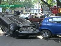 Масштабная авария в центре Одессы