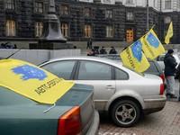 Автопротест в Киеве: улица Грушевского будет перекрыта