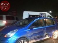 Пьяное ДТП в Киеве: водитель протаранил авто с грудным ребенком