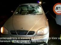 В Киеве несколько автомобилей переехали пешехода-нарушителя