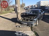 В Киеве пьяный водитель обесточил целый район