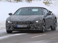 Появились первые шпионские фото родстера BMW I8