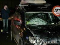 Смертельное ДТП в Киеве: мужчина бросился под колеса Mitsubishi