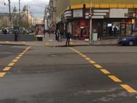 В Киеве на Крещатике заработал первый наземный переход