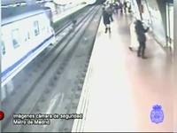По-мужски: спасаем из-под колес поезда