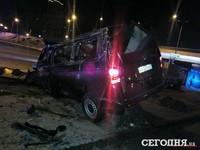 В Киеве пьяный водитель штурмовал станцию метро Харьковская