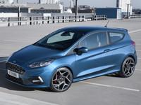 Появились фото и характеристики Ford Fiesta ST нового поколения