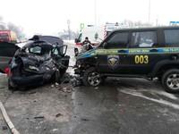В Днепре УАЗик протаранил Lada: погибли три человека