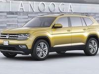 ����� ����������� ����� ��������� Volkswagen Atlas