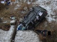 Иномарка слетела с моста в Николаевской области, водитель погиб