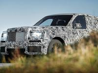 Rolls-Royce показал свой будущий внедорожник