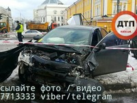 В центре Киева произошло смертельное ДТП